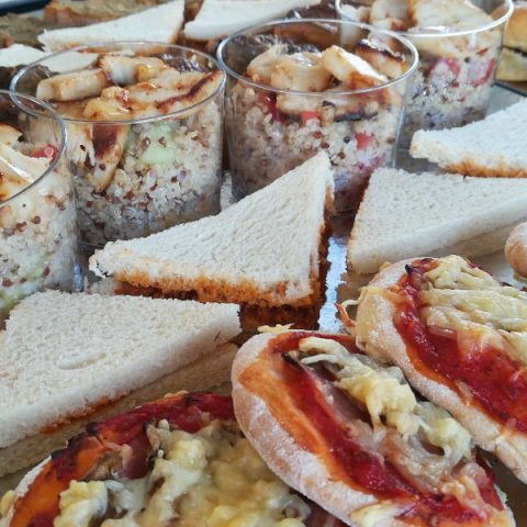 Sandwichs et verrines traiteur