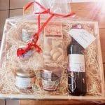 Coffret cadeau de produits régionaux